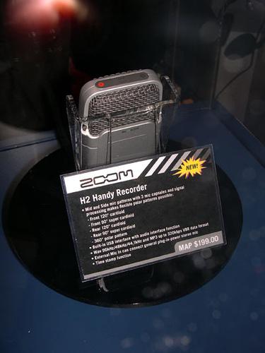 Zoom H2 photo