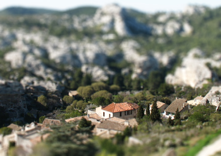 Les Baux, France as a model by Kevin Goldsmith
