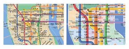 Kick Design NYC Subway map