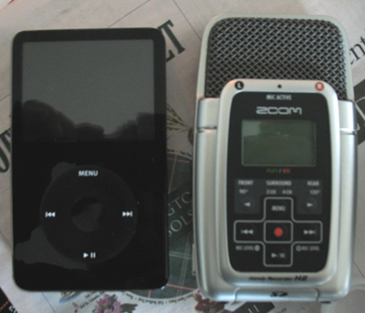 an 80GB IPod and a H2